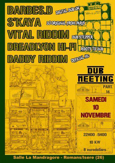 Dub Meeting 14 Dreadlyon