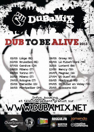 Dubamix - Dub to be Alive