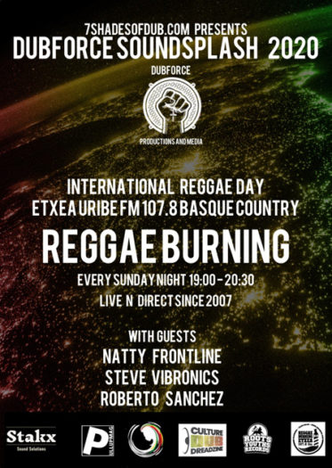International Reggae Day – Dubforce Soundsplash 2020