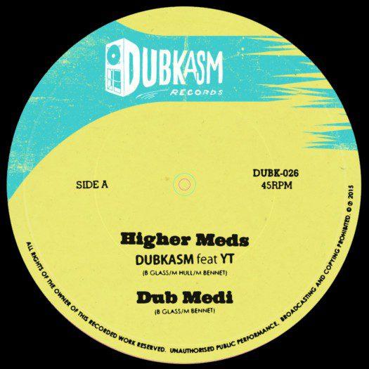 """Dubkasm feat YT & Rudy Lee - 12"""" DUBK026"""