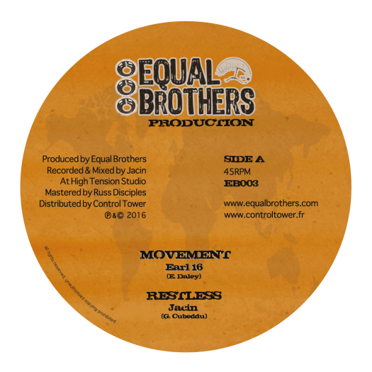 "Jacin feat Earl 16 - 12"" Equal Brothers"