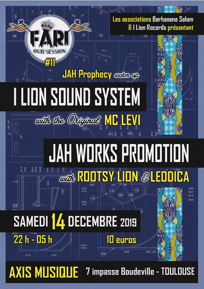 Dub Shepherds – Culture Dub 20 Years – Bux' In Dub #4, La Rotative Buxerolles (86) – Sound System Party, 12 Octobre 2019 (nouveau nom)