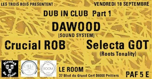 Culture Dub Show – 27 Octobre 2015 – Radio Pulsar