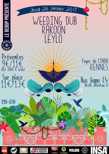 Weeding Dub  / Rakoon / Leylo
