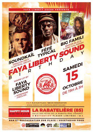 Faya Liberty Sound Birthday