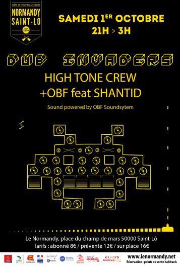 Dub Invaders + OBF feat Shanti D