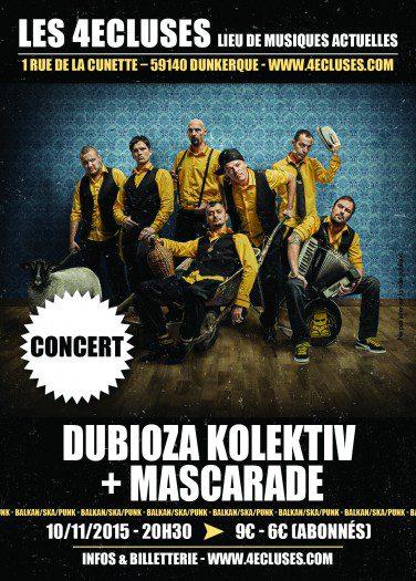 Dubioza Kolektiv + Mascarade