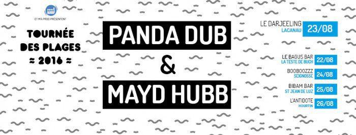 Panda Dub + Mayd Hubb @ Darjeeling