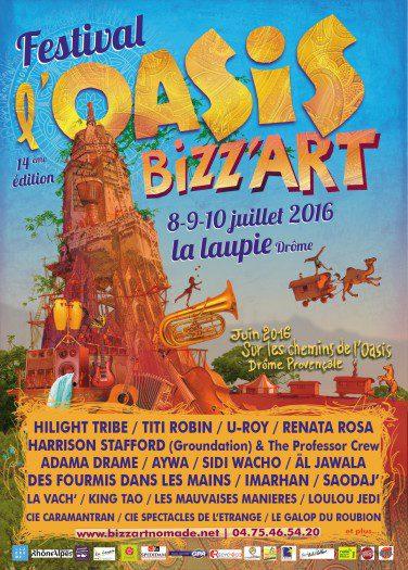 Oasis Bizz'Art 2016