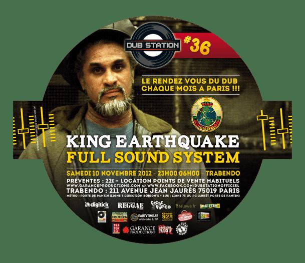 Paris Dub Station 36 King Earthquake