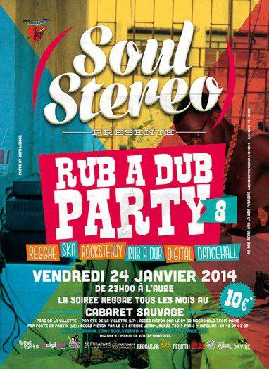 RUB A DUB PARTY #8