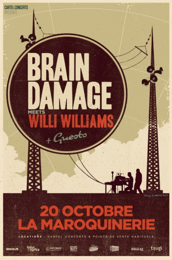 Brain Damage meets Willi Williams + Weeding Dub