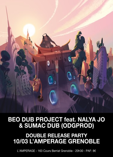 BeO Dub Project + Sumac Dub Release Party