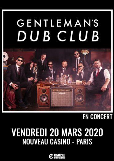 Gentleman's Dub Club @ Nouveau Casino