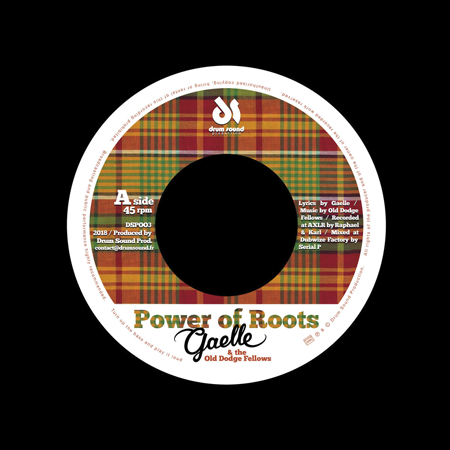 "Gaelle & The Old Dodge Fellows - 7"" Drumsound"