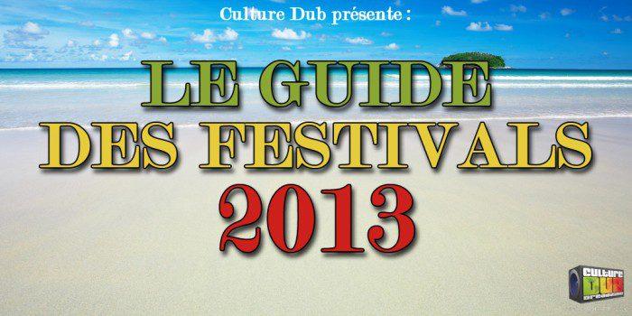 Le Guide des Festivals 2013