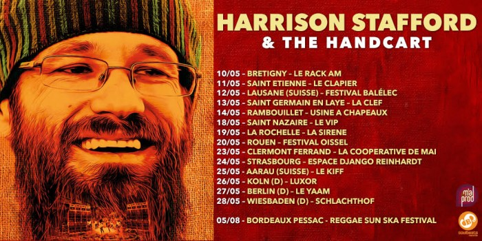 Harrison Stafford & The Handcart - Spring Tour