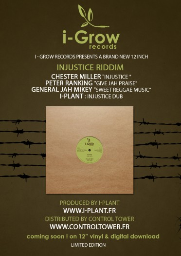 I-Plant - Injustice Riddim