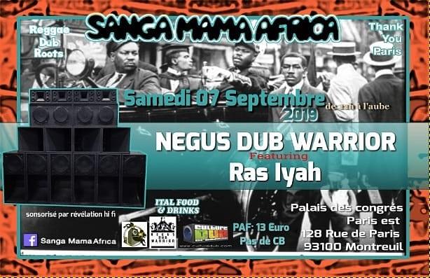 Sanga Mama Africa & Negus Dub Warrior