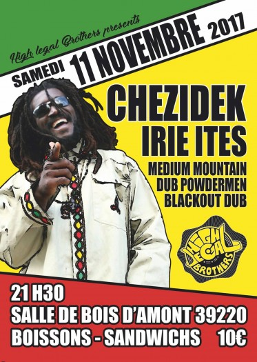 Chezidek + Irie Ites By High Legal Brothers