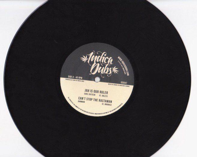 Earl 16 - Jah Is Our Ruler / Danman - Can't Stop The Rastaman