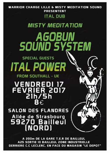 Ital Power & Agobun Sound System