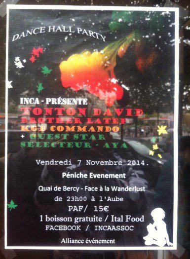 Inca Dancehall Party