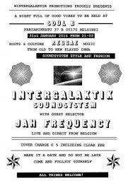 Intergalaktik Sound System - Soul B