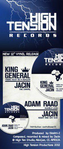"Jacin - 12"" High Tension Records"