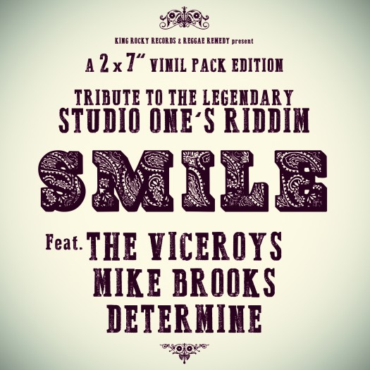"Smile - 2 x 7"" King Rocky Records"