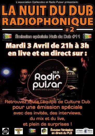 La Nuit du Dub Radiophonique #2