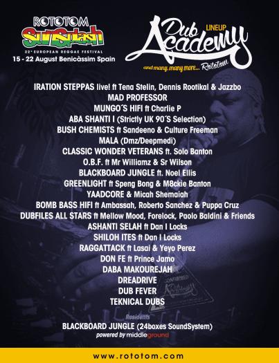 Dub Academy 2015