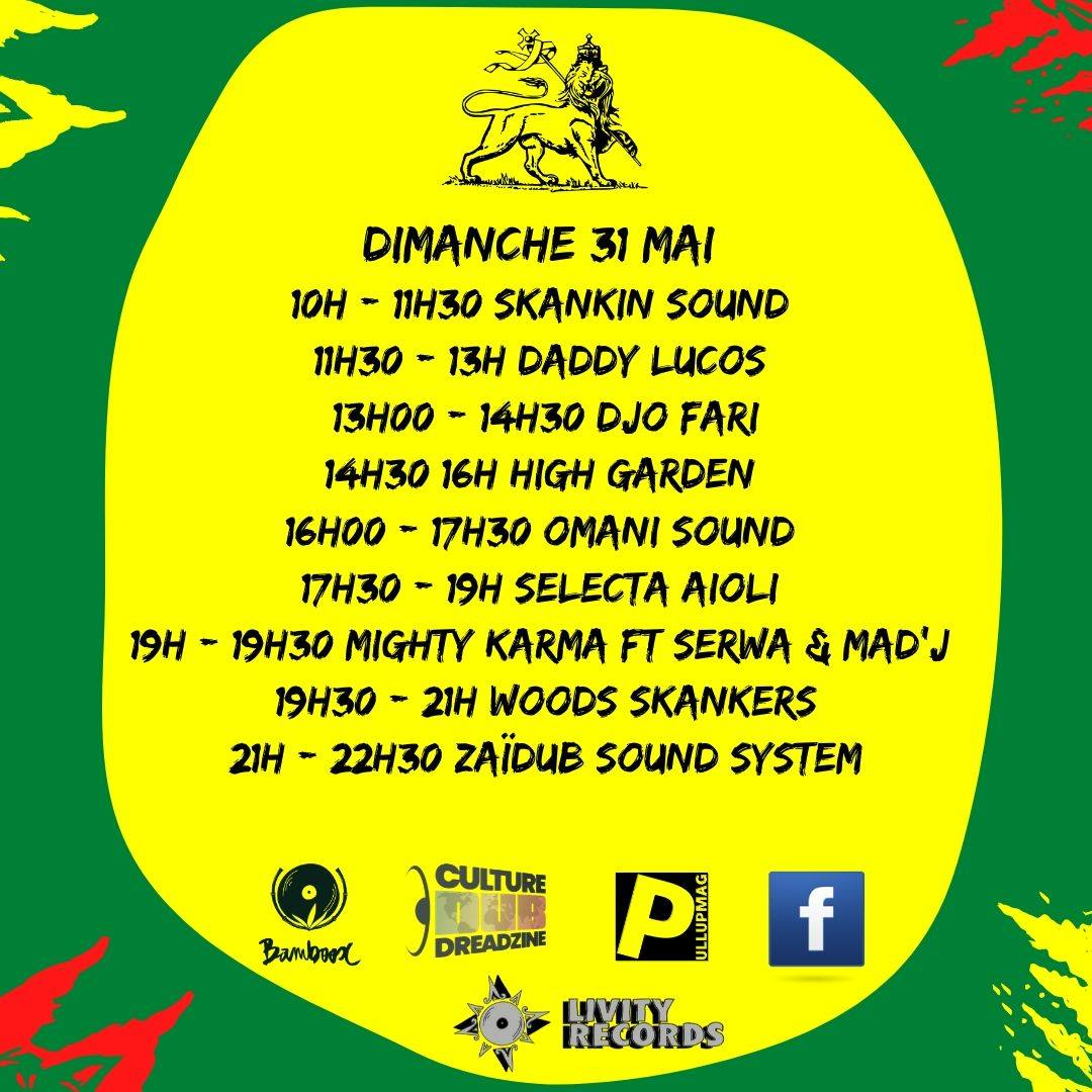 Culture Dub Show – 12 Février 2018 – Party Time Radio & TV