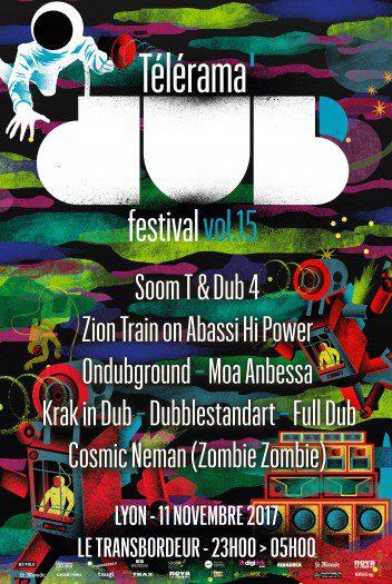 Télérama Dub Festival #15 @ Lyon