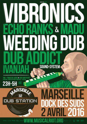 Marseille Dub Station #32
