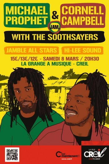 MICHAEL PROPHET & CORNELL CAMPBELL + THE SOOTHSAYERS + JAMBLE ALL STARS + HI-LEE
