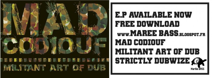Mad Codiouf - Militant Art of Dub ban