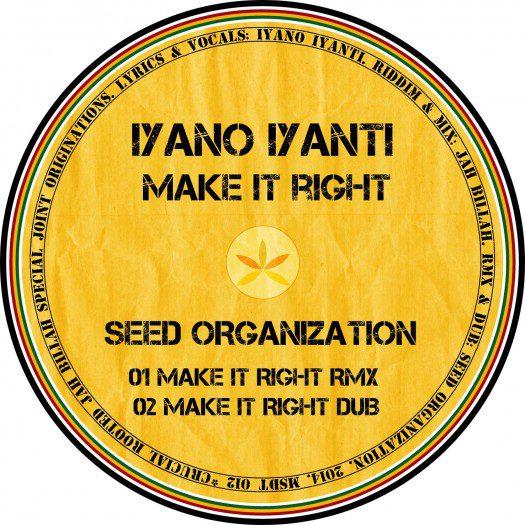 Make It Right - Seed Organization Remix