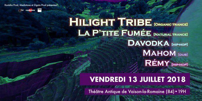 Highligh Tribe / La P'tite Fumée...