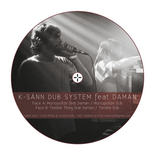 K-Sänn Dub System feat. Daman - Monopolize EP