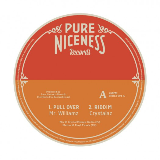 """Mr Williamz - Pull Over (12"""" Pure Niceness Records)"""