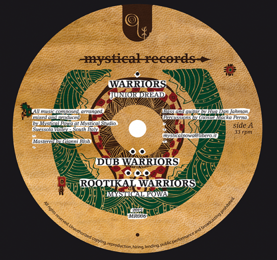 Mystical Powa - Warriors / Zion Valley