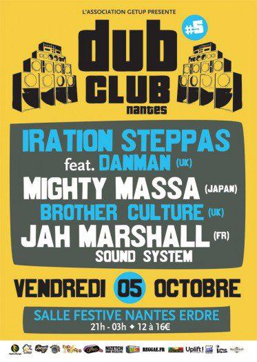 Nantes Dub Club 5 Mighty Massa Iration Steppas Brother Culture