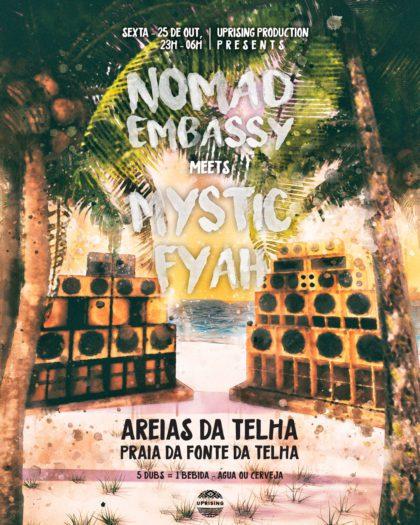 Dub N Beach – Nomad Embassy meets Mystic Fyah