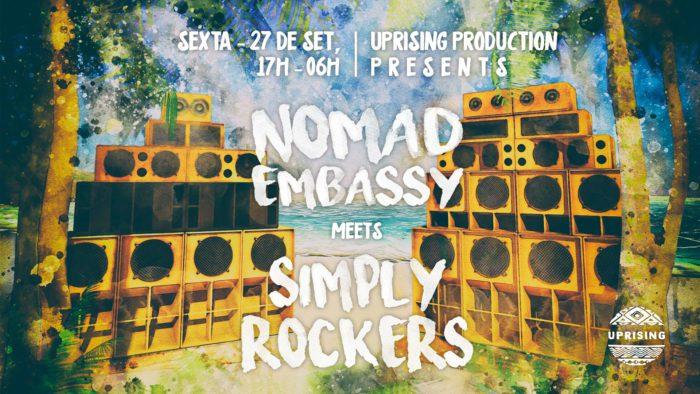 Dub N Beach – Nomad Embassy meets Simply Rockers