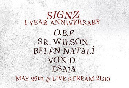 O.B.F Signz 1 Year Anniversary
