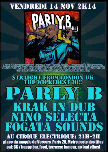 Fogata Sounds meets Parly B