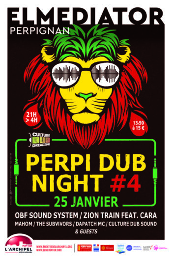 Perpi Dub Night #4 – Culture Dub 20 Years