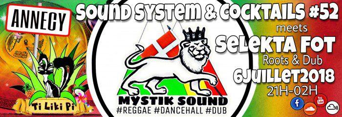 Sound System & Cocktails #52