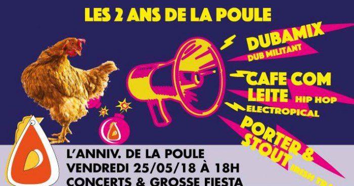 Dubamix @ La Poule aux Potes